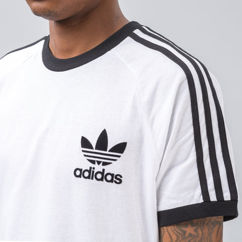 Adidas CLFN Tee in White - Notre