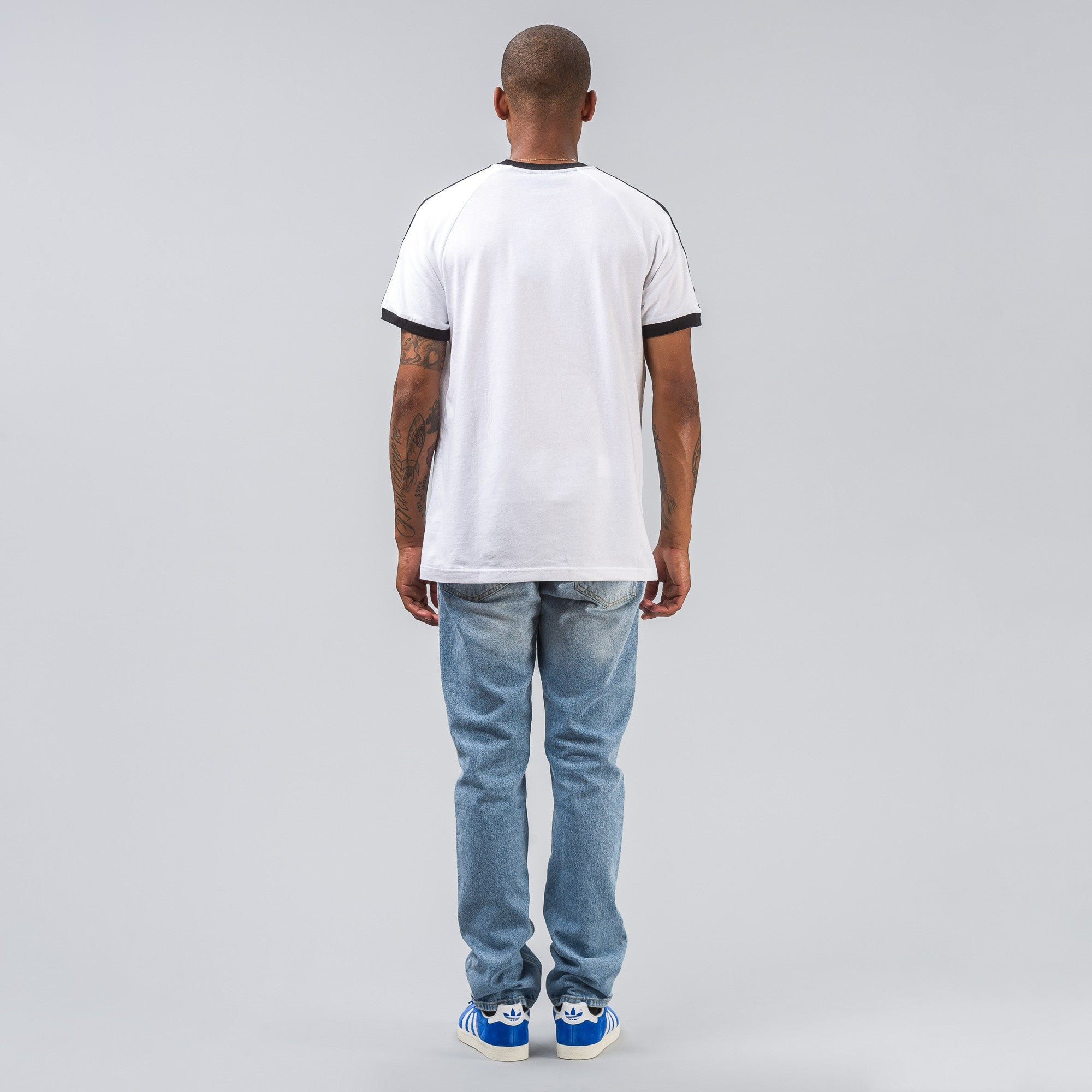 CLFN Tee in White