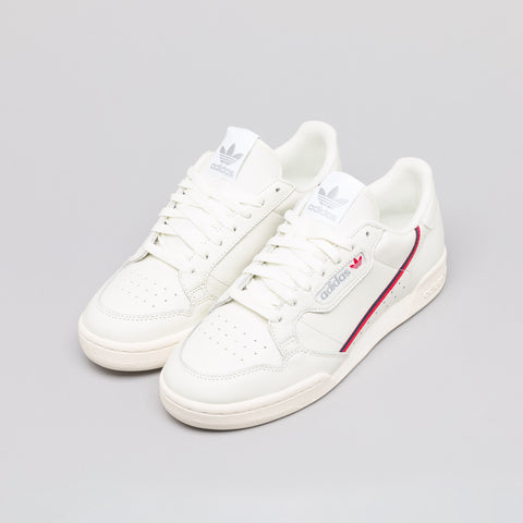 adidas Continental 80 Rascal in Off White/Scarlet - Notre