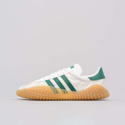 adidas CountryxKamanda in White/Green - Notre