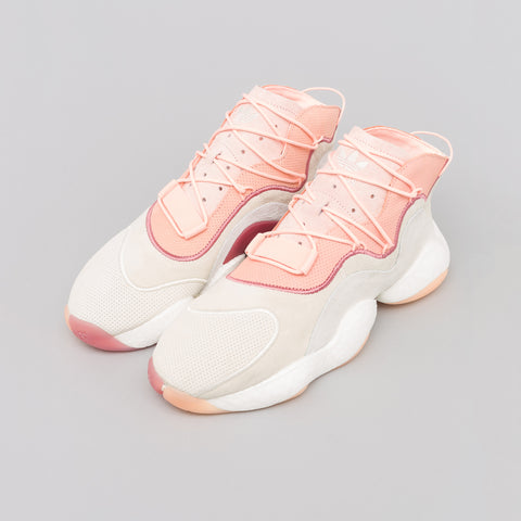 adidas Crazy BYW in Cream White/Orange - Notre