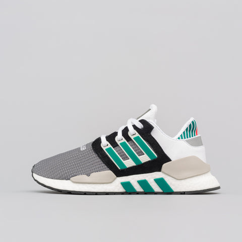 adidas EQT Support 91/18 in Black/Granite/Green - Notre