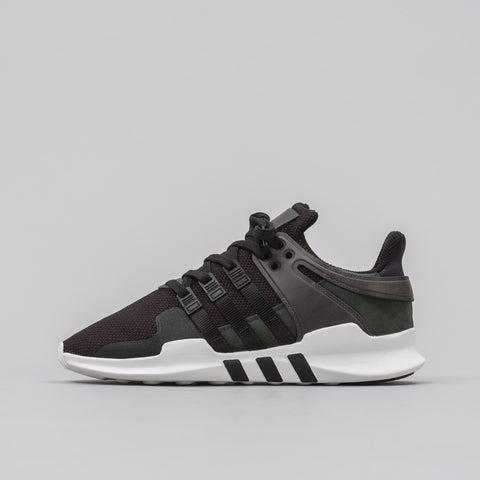 Adidas EQT Support ADV in Black 'Leather' - Notre