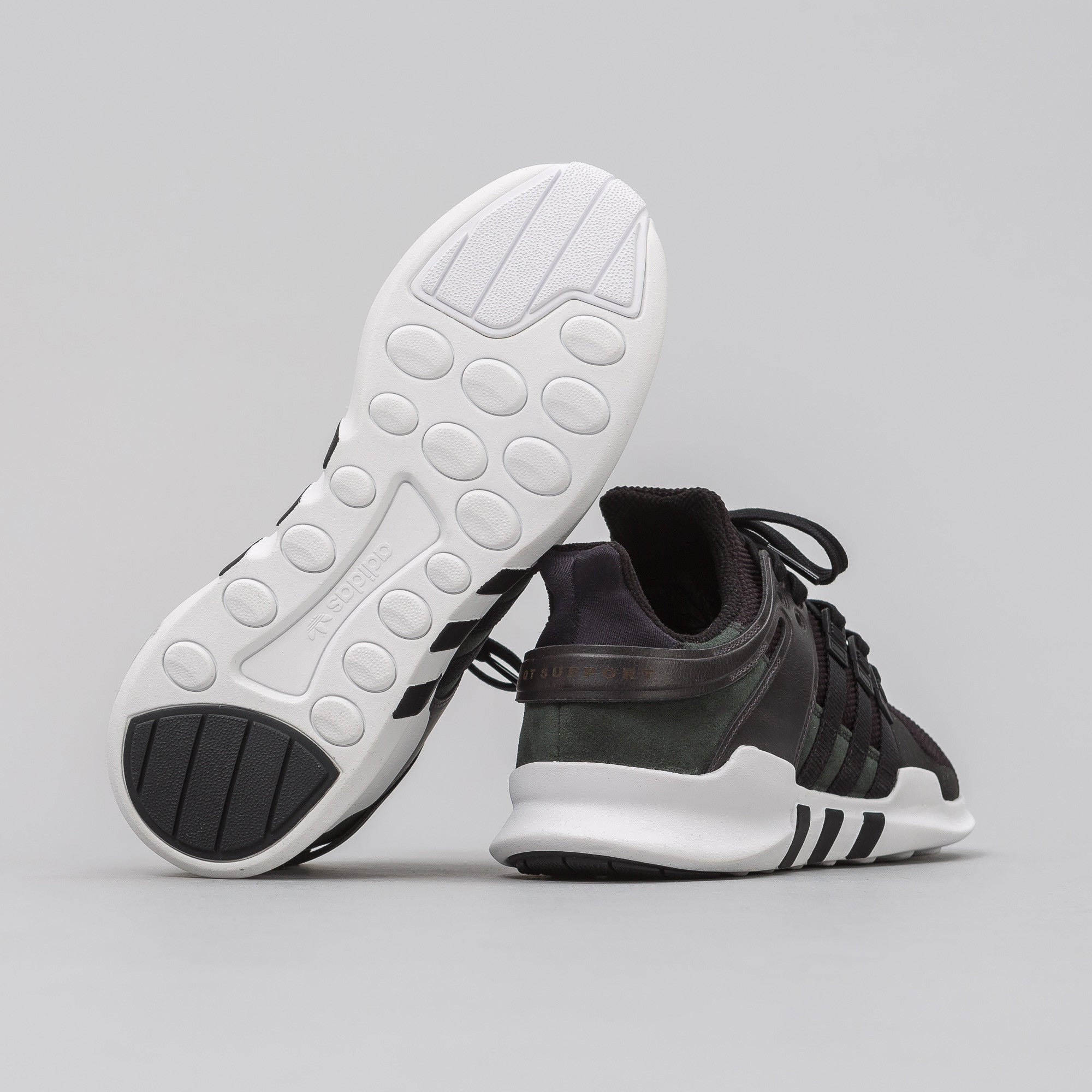 EQT Support ADV in Black 'Leather'