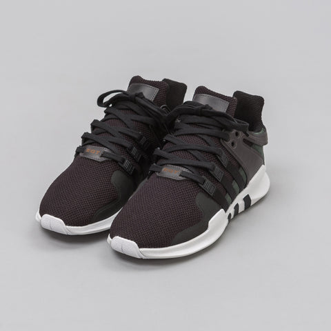 Adidas EQT Support ADV in Core Black 'Milled Leather' - Notre