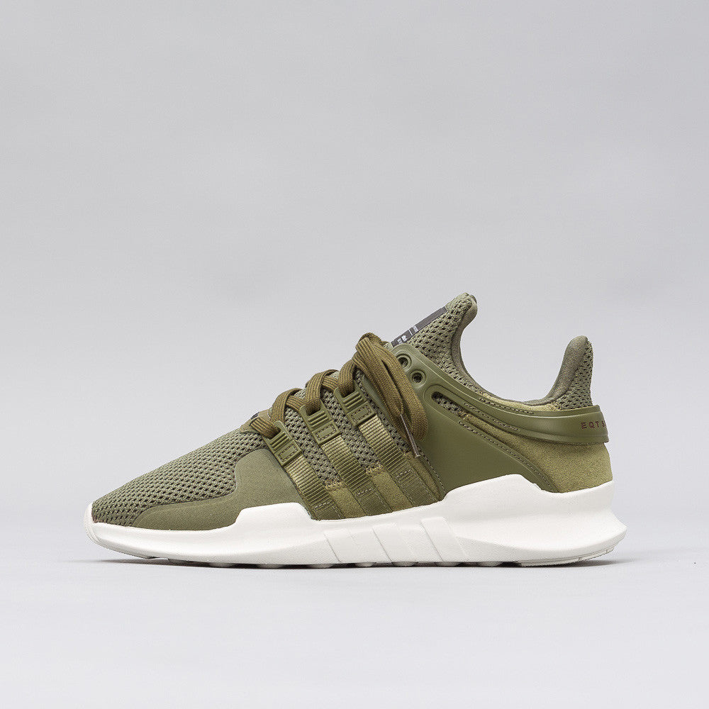 adidas EQT Support ADV in Olive Cargo/White BA8328