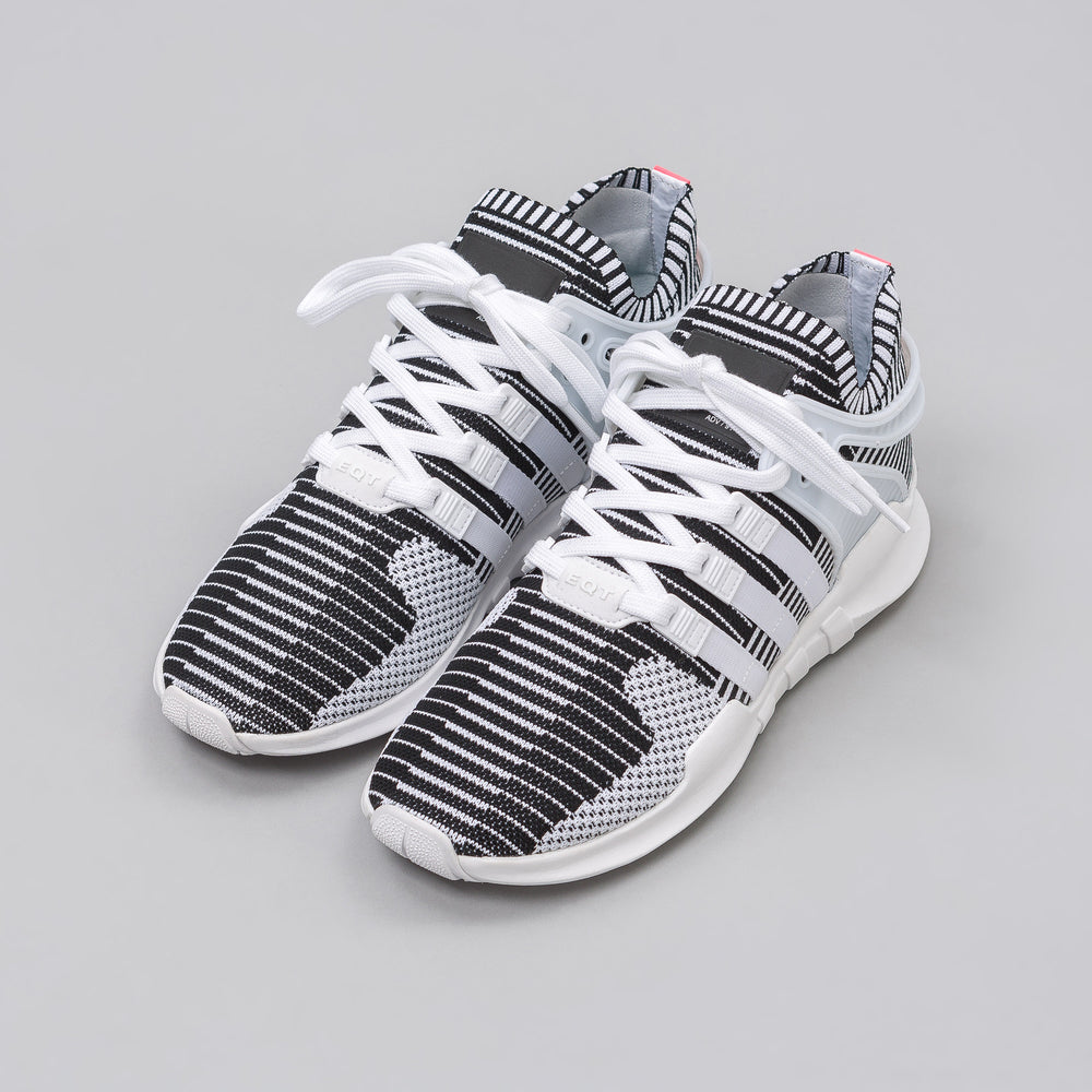Adidas EQT Support ADV Primeknit in White/Black - Notre