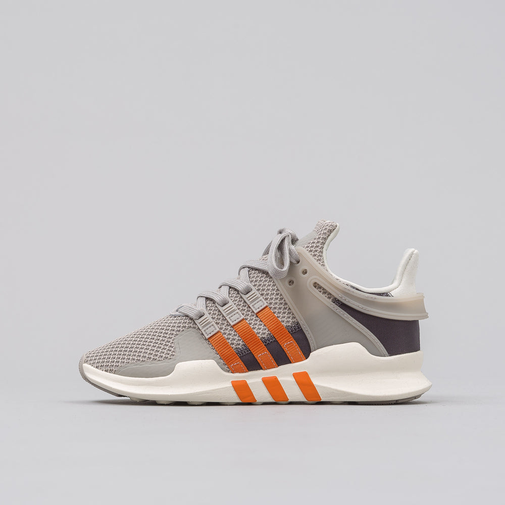 Adidas Women's EQT Support ADV in Grey/Orange - Notre