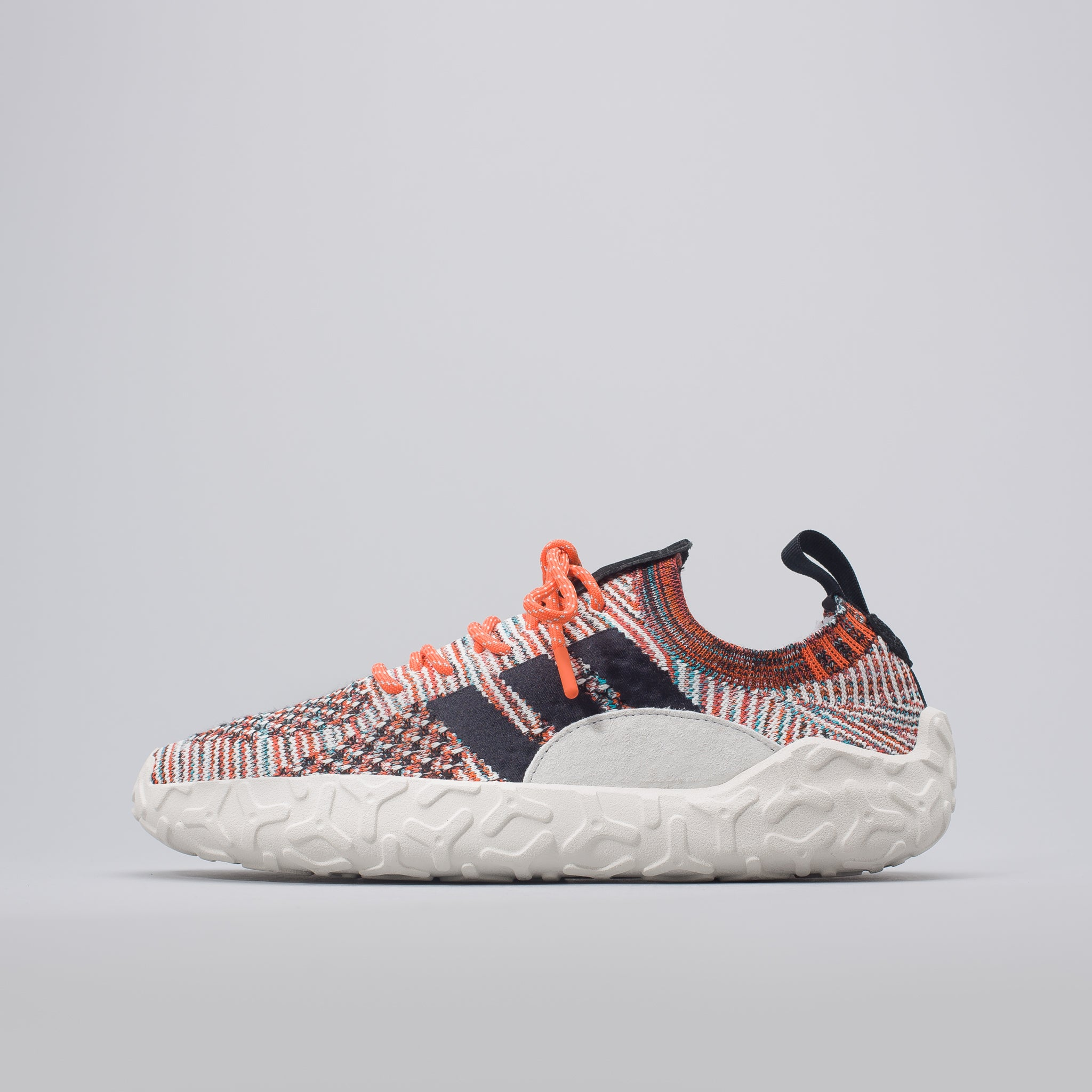 F/22 Primeknit in Trace Orange/Black