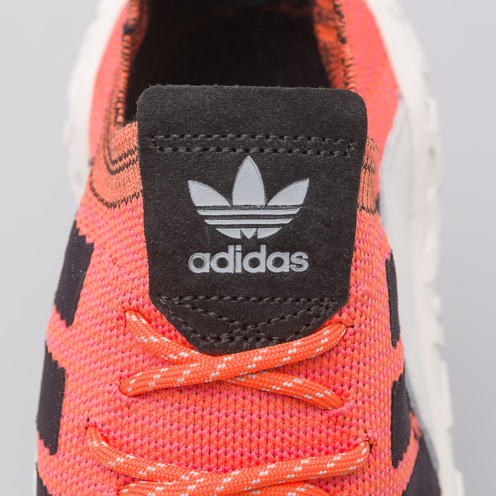 F/22 Primeknit in Trace Orange/White