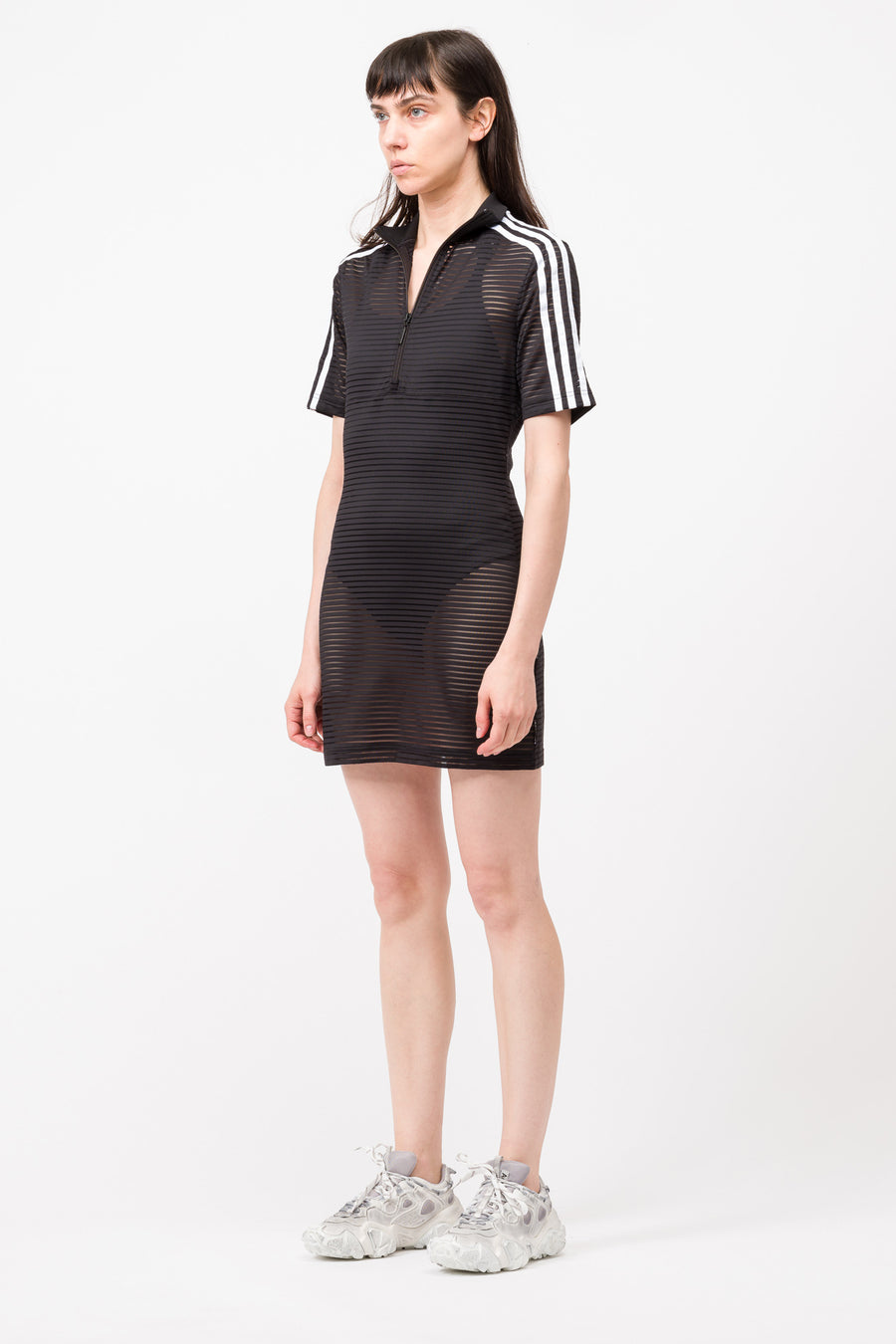 adidas Firebird Dress in Black - Notre