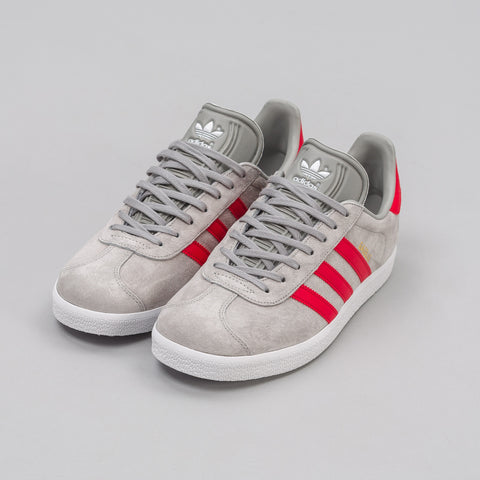 Adidas Gazelle in Grey/Red - Notre