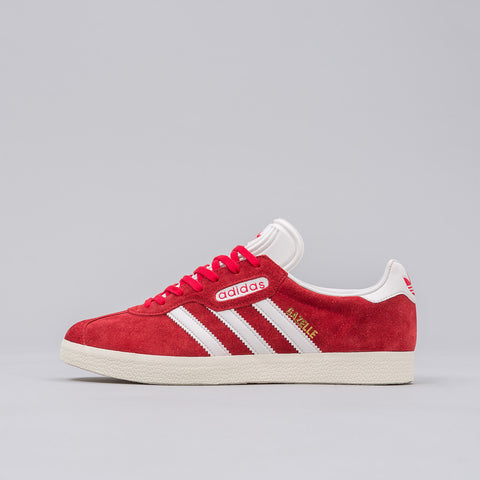 Adidas Gazelle Super in Red - Notre
