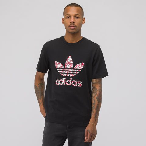 adidas Have A Good Time Short Sleeve T-Shirt in Black - Notre
