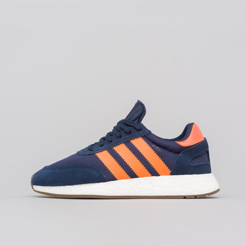 adidas I-5923 in Navy/Orange - Notre