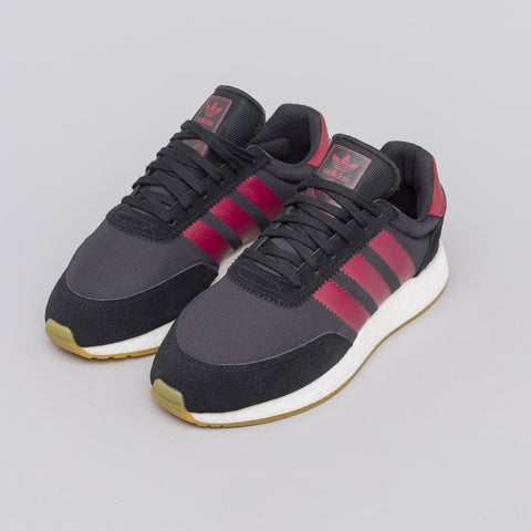 adidas I-5923 in Core Black/Burgundy - Notre
