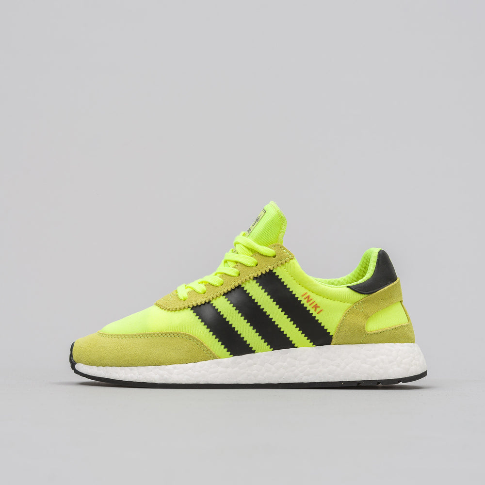 Adidas Iniki Runner in Yellow - Notre