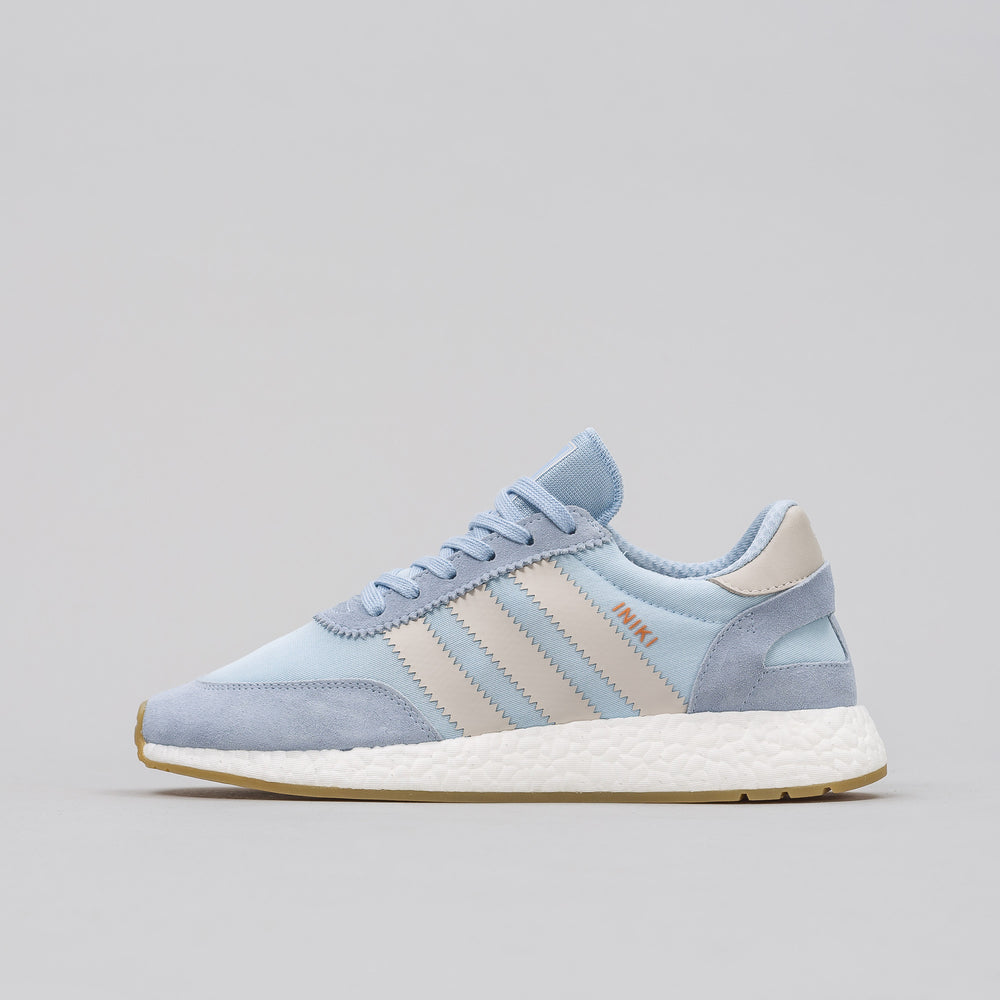 Adidas Iniki Runner in Easy Blue - Notre