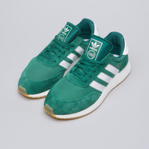 Adidas Iniki Runner in Collegiate Green - Notre