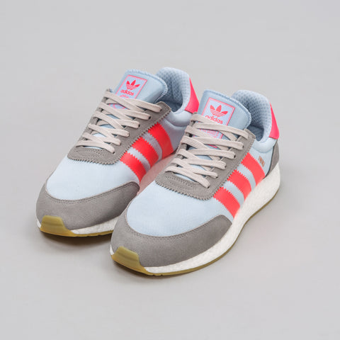 Adidas Iniki Runner in Grey/Red - Notre