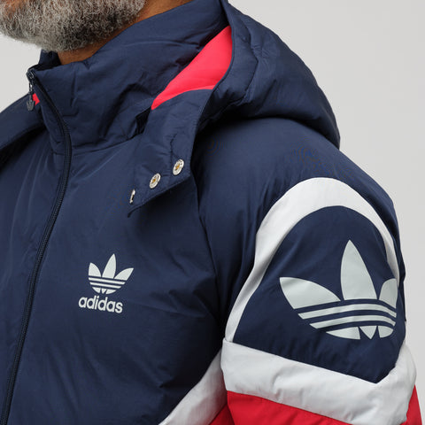 adidas Down Jacket in Red - Notre
