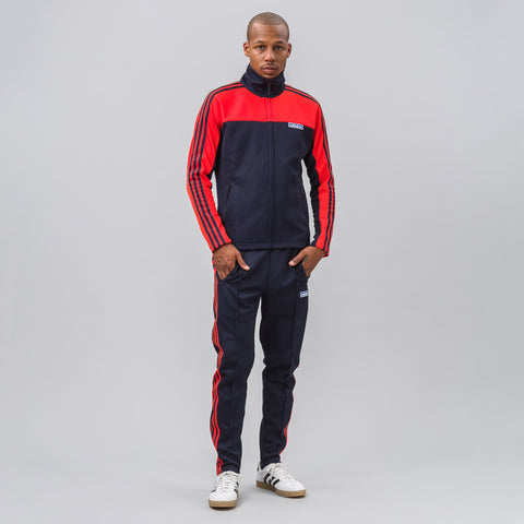 adidas Made in Japan Track Suit in Blue/Orange - Notre