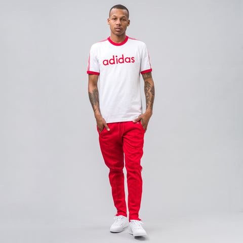 Adidas MIG TRF Tee in White - Notre