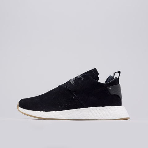 Adidas NMD C2 in Core Black Suede - Notre