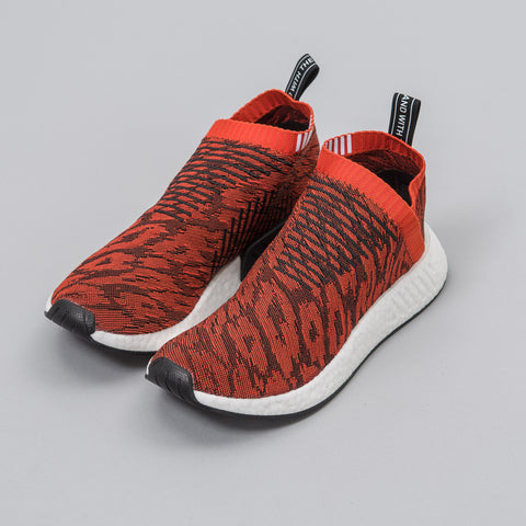 adidas NMD CS2 Primeknit in Red Multi - Notre