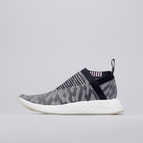 Adidas NMD CS2 Primeknit in Core Black/Pink - Notre