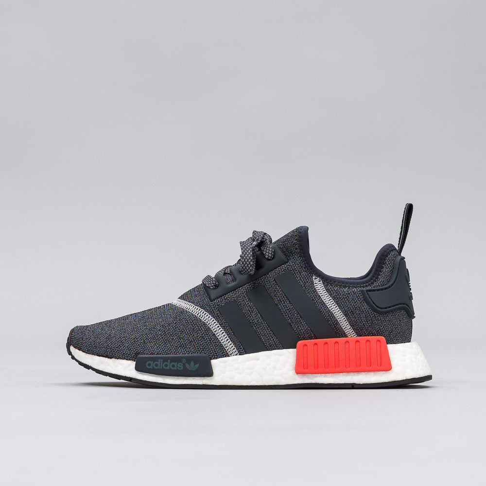 NMD R1 in Grey/Black/Red