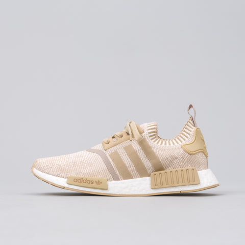 adidas NMD R1 Primeknit in Linen Khaki/Off White - Notre