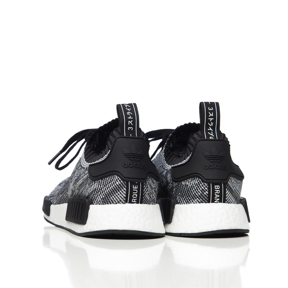 Adidas NMD R1 S31515 New Pick Up In Black with Blue Heel Tab