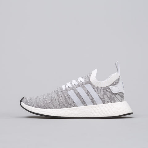 Adidas NMD R2 Primeknit in Running White - Notre