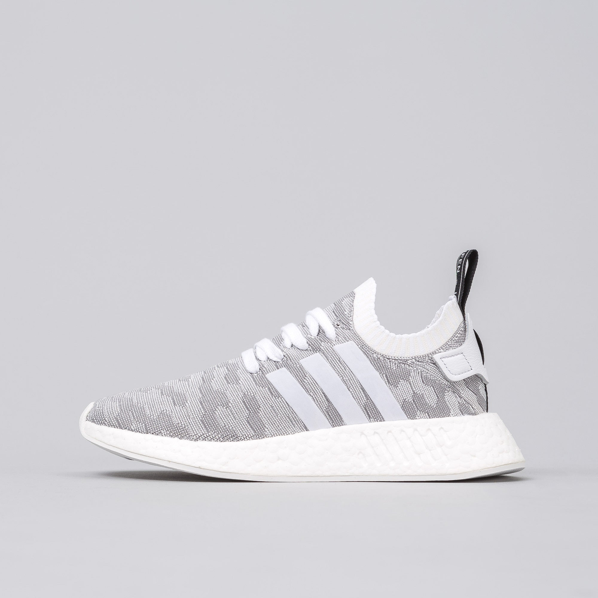 bb215ab1d ADIDAS NMD R2 BLACK WHITE FUTURE HARVEST. Find great deals for adidas  Originals NMD R2 PK W Primeknit Boost Grey Pink Women Running Shoe BY9520  ...