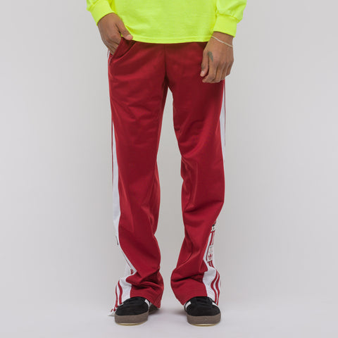 Adidas OG Adibreak Track Pant in Red - Notre