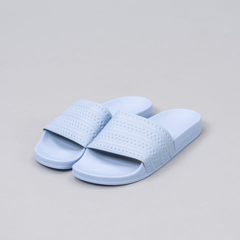 Adidas Adilette Slides in Easy Blue - Notre