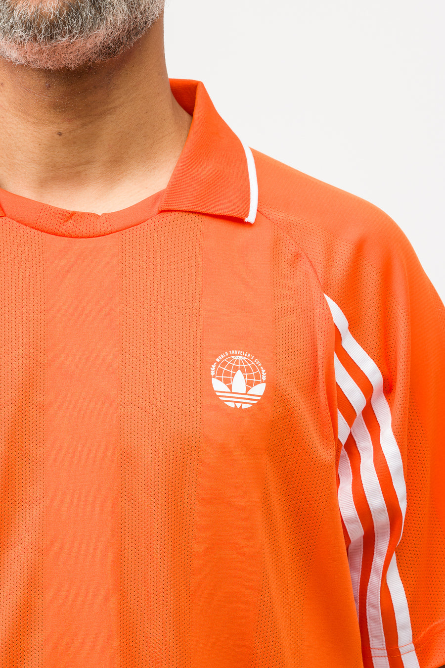 adidas Oyster Holdings Tee in Orange - Notre