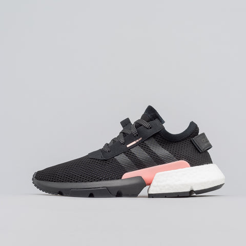 adidas POD S3.1 in Core Black/Clear Orange - Notre