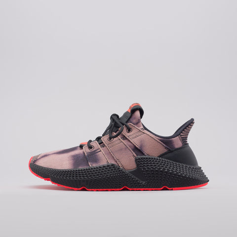 adidas Prophere in Black/Solar Red - Notre