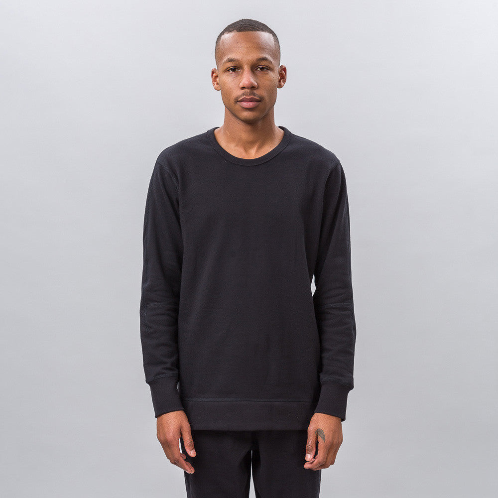 x Reigning Champ FT Crew in Black