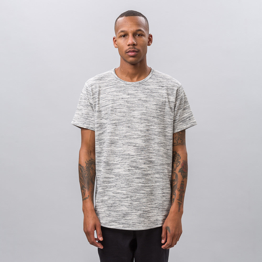 x Reigning Champ SS Tee in Grey Multi