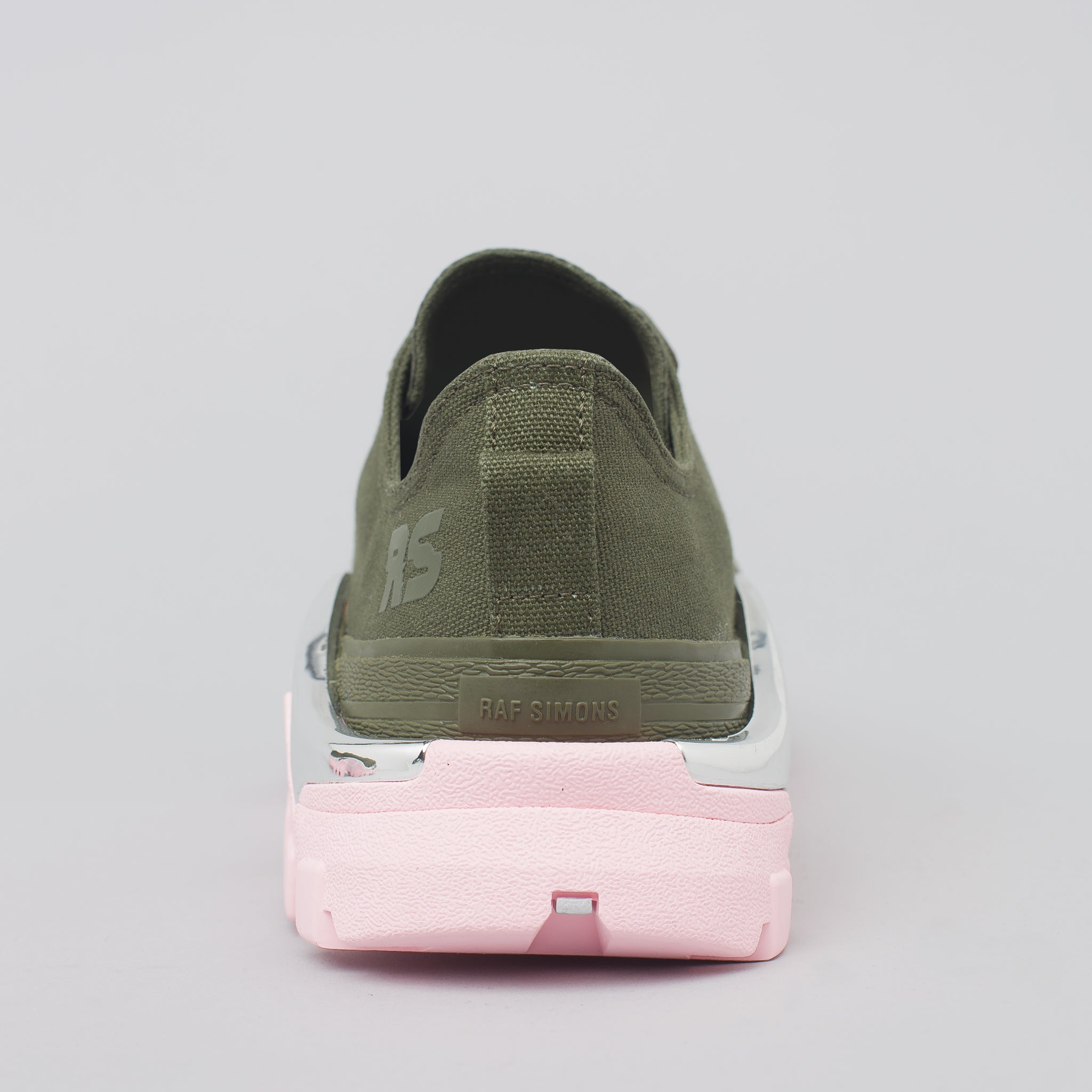 Detroit Runner in Olive/Pink