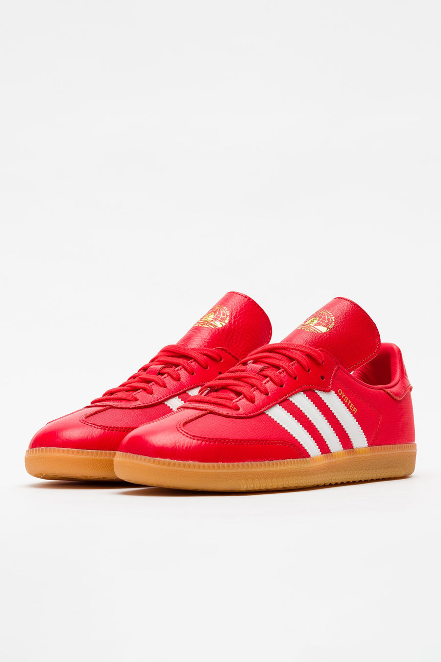 adidas Oyster Holdings Samba OG in Red - Notre