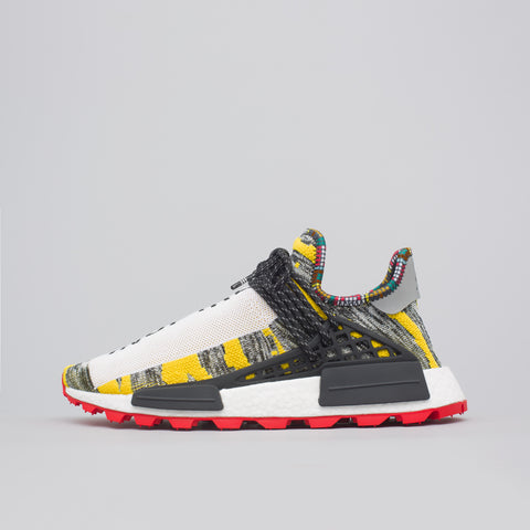 adidas x Pharrell Williams Solar HU NMD in Black/Red - Notre