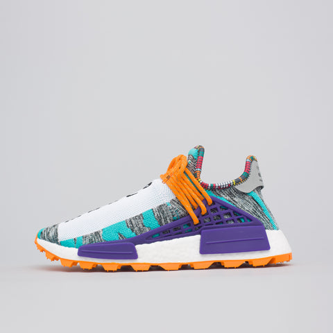 adidas x Pharrell Williams Solar HU NMD in Aqua/Black - Notre