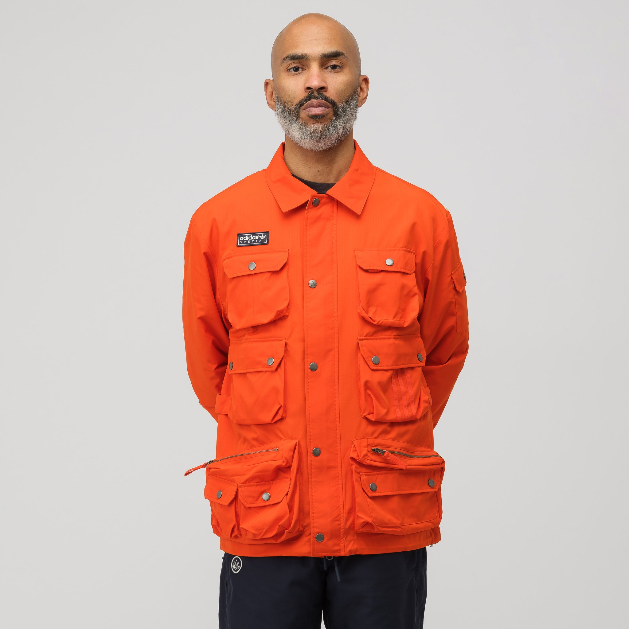 Wardour Military Jacket in Orange