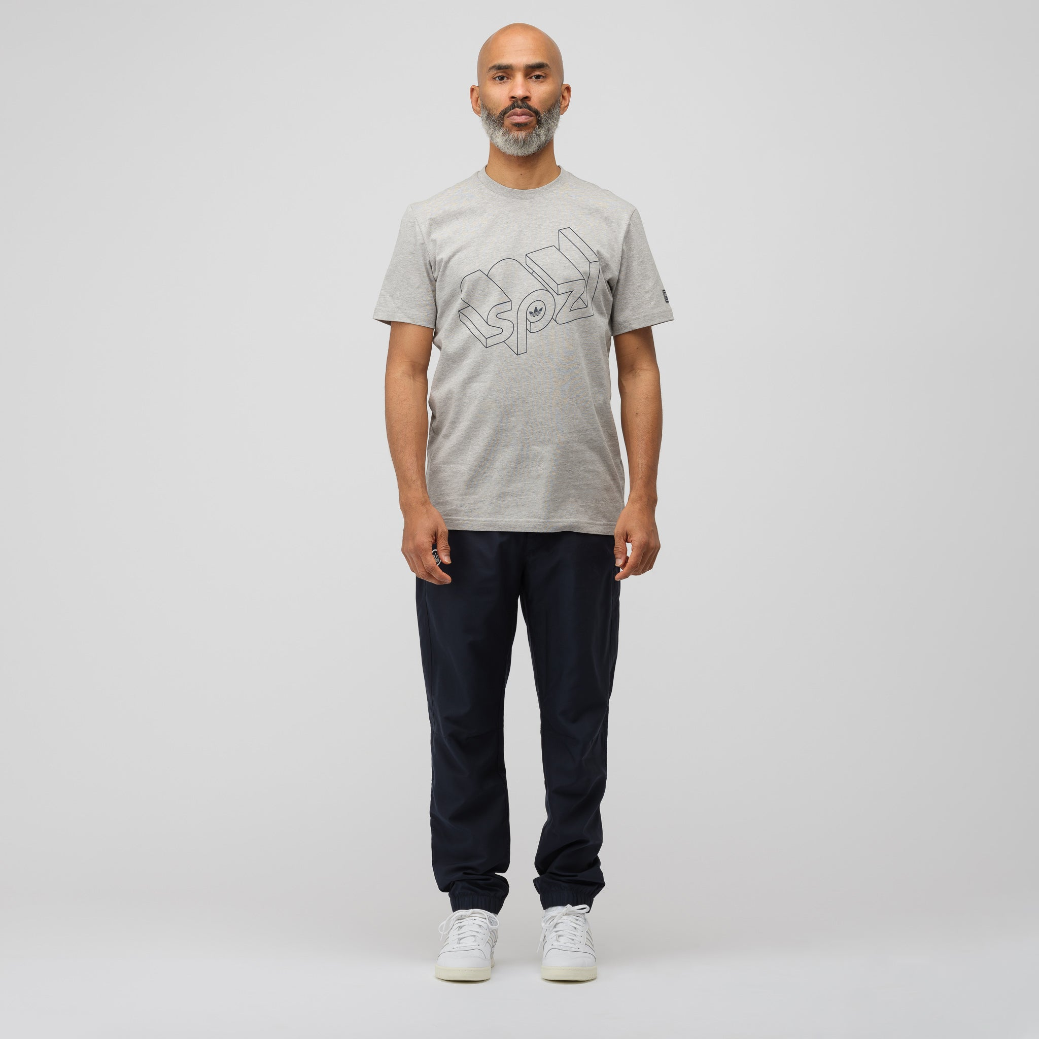 Wireframe T-Shirt in Heather Grey