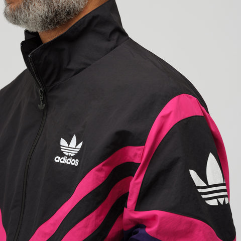 adidas Sportive Track Top in Deep Purple - Notre