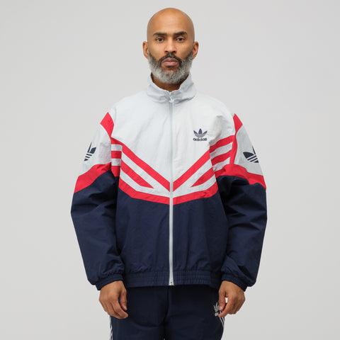 adidas Sportive Track Top in Navy - Notre